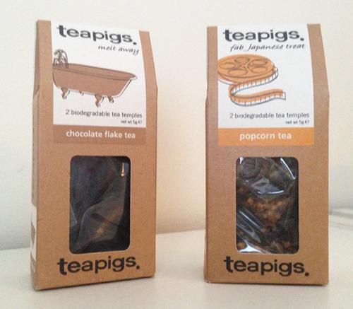 Popcorn/Chocolate Tea
