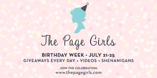 The Page Girls Birthday