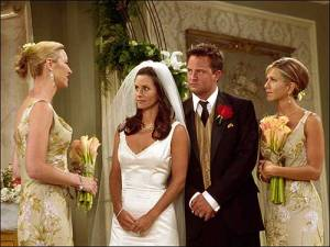 Monica and Chandler Marriage