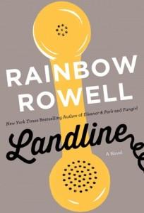 Landline Cover Rainbow Rowell