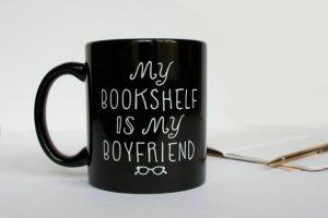 Bookshelf Boyfriend Mug