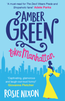 Amber Green takes Manhattan Cover