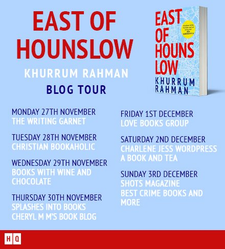 East of Hounslow blog tour image