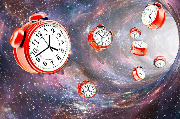 Clocks in Space