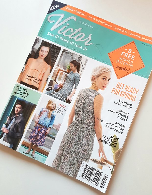 La Maison Victor Magazine Front Cover